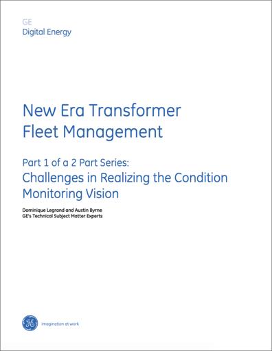 White Paper: new era transformer fleet management - part 1