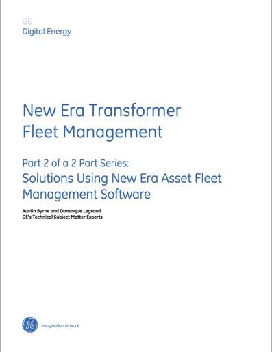 White Paper: new era transformer fleet management - part 2