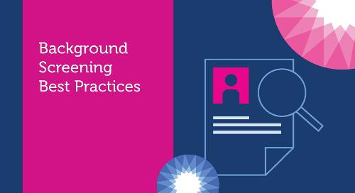 Background Screening Best Practices
