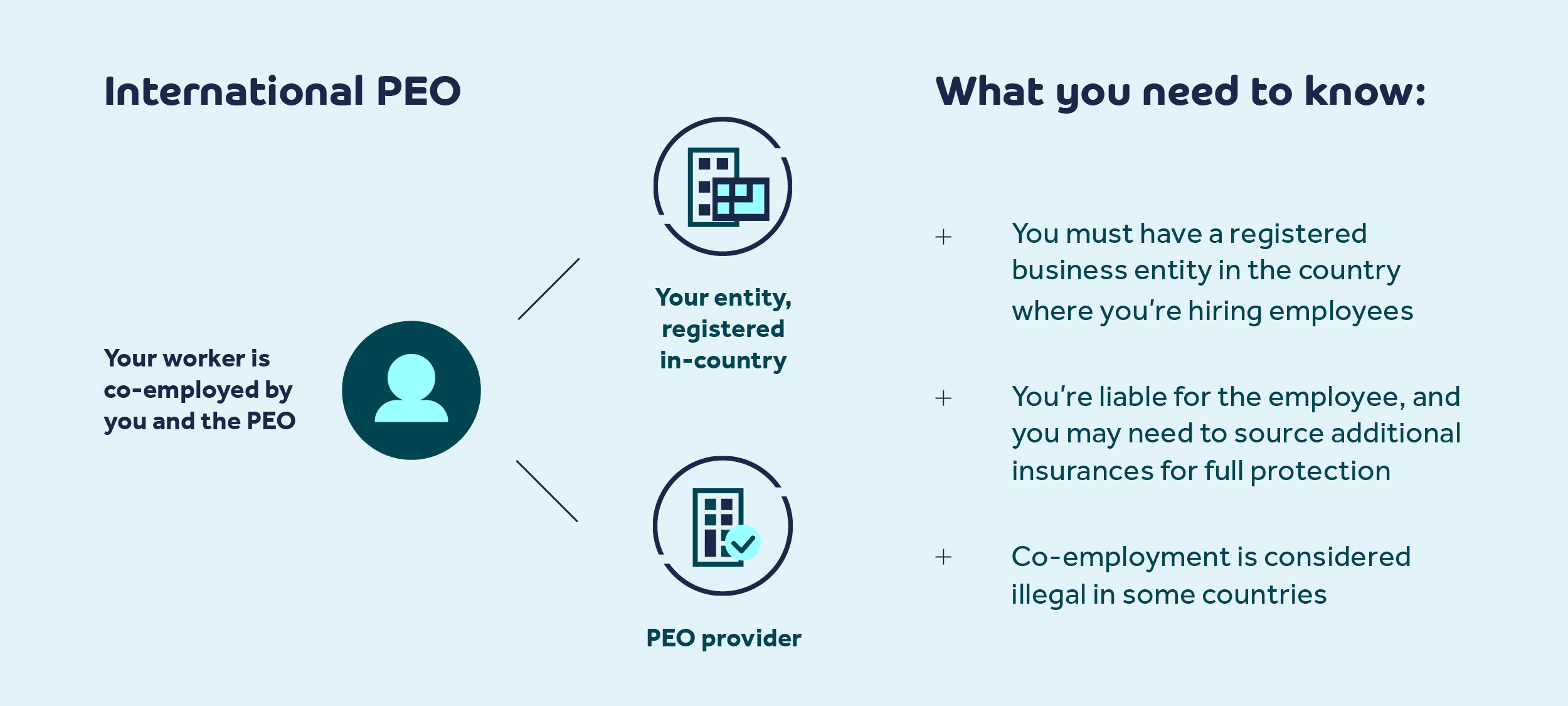 co-employment and international peo
