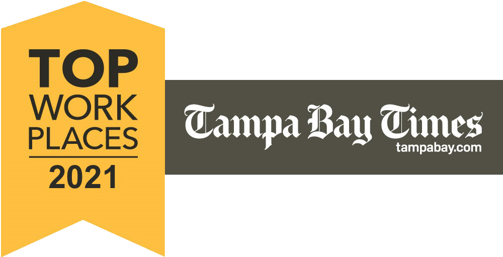 Tampa Bay Times Top Workplaces 2021