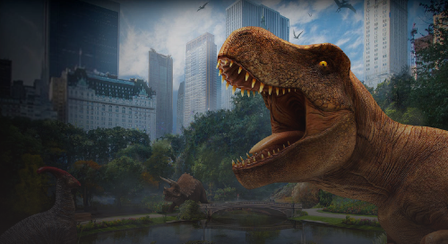 Converting to Unity for Jurassic World Alive