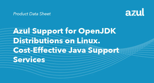 Azul Support for OpenJDK Distributions on Linux