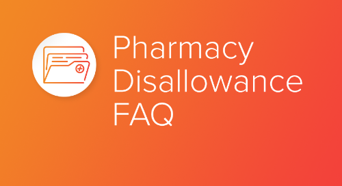 Pharmacy Disallowance FAQ