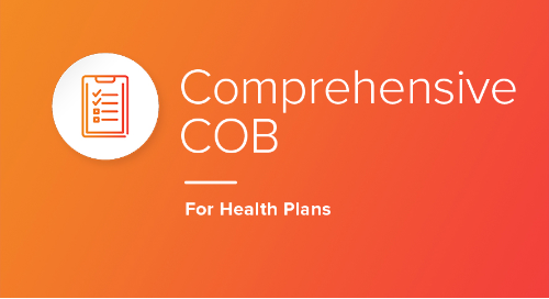 Comprehensive COB for Health Plans