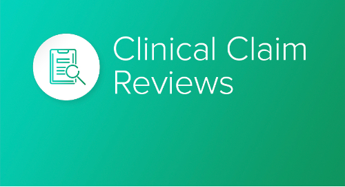 Clinical Claim Review