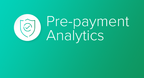 Pre-payment Analytics