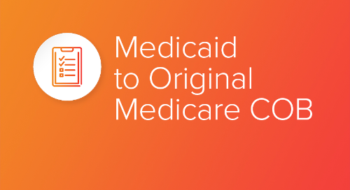 Medicaid to Original Medicare COB