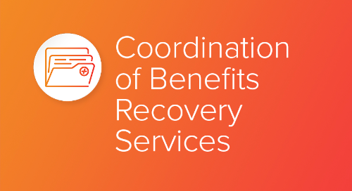 Coordination of Benefits Recovery Services