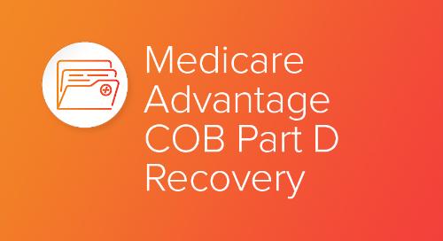 Medicare Advantage COB Part D Recovery