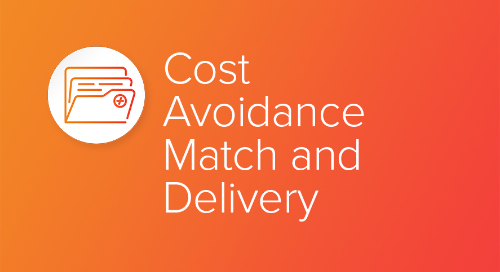 Cost Avoidance Match and Delivery