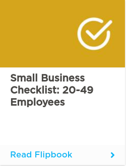 Small Business Checklist: 20-49 employees