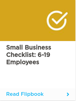 Small Business Checklist: 6-19 employees