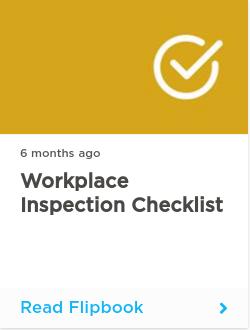 Workplace Inspection Checklist