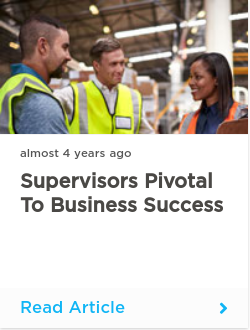 Supervisors pivotal to business success