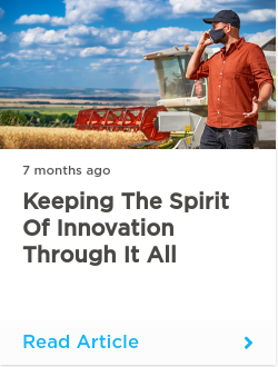 Keeping the Spirit of Innovation through it All