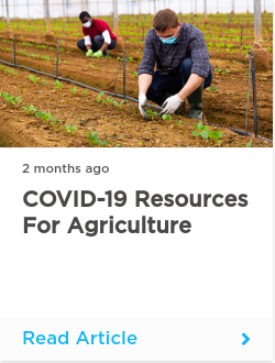COVID-19 Resources for Agriculture
