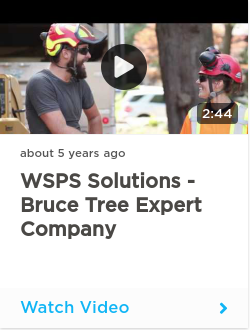 WSPS Solutions - Bruce Tree Expert Company