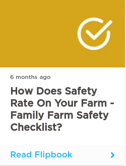 How Does Safety Rate On Your Farm - Family Farm Safety Checklist?