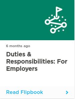 Duties & Responsibilities: for Employers