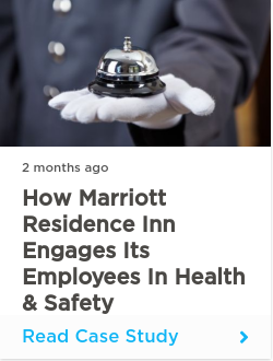 How Marriott Residence Inn Engages Its Employees in Health & Safety