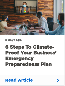 6 steps to climate-proof your business' emergency preparedness plan