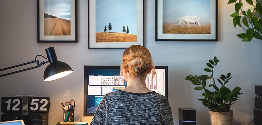 Shopping for home office equipment - Consider ergonomics
