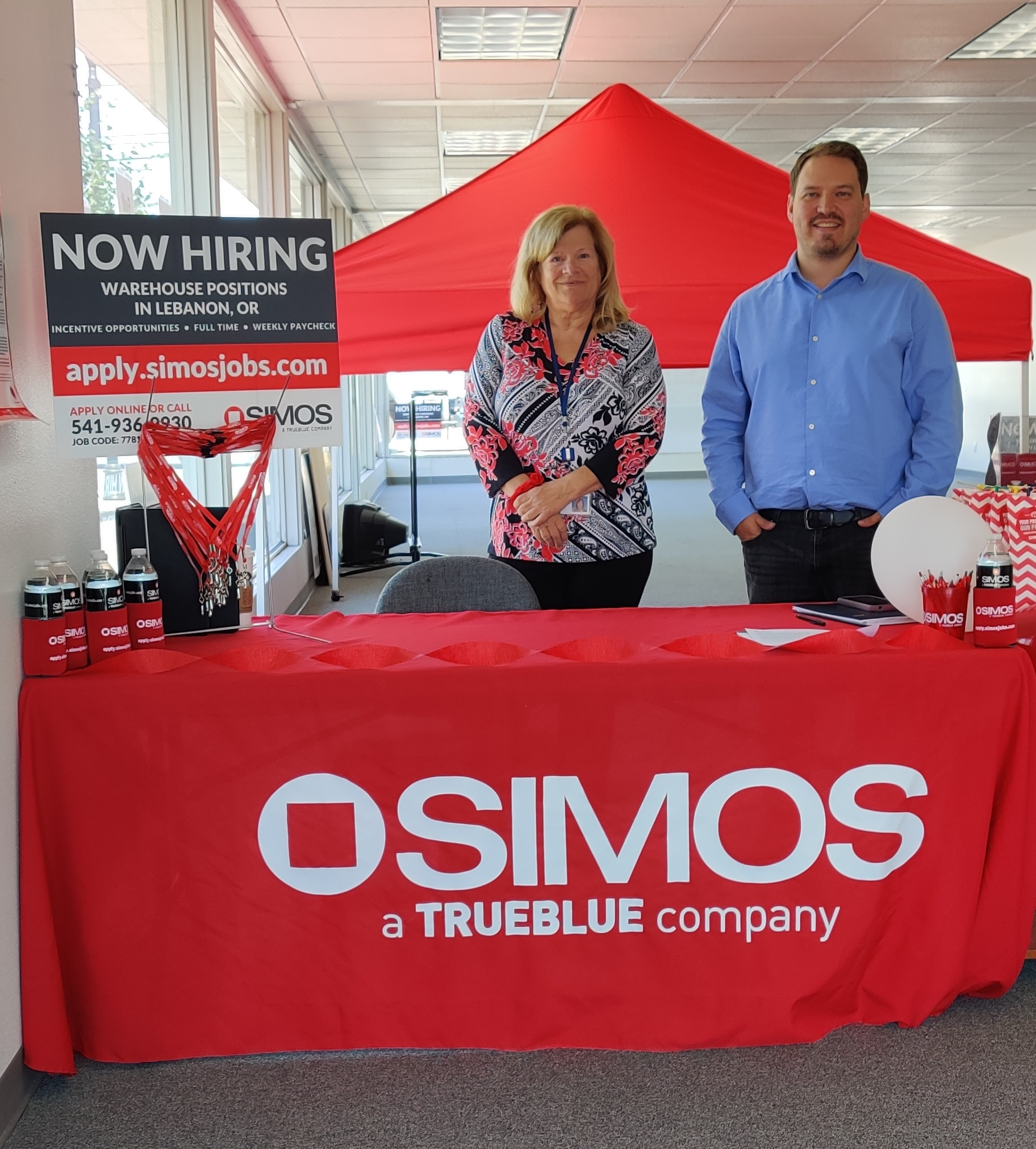 SIMOS partners with Goodwill to help new hires who need new work clothes