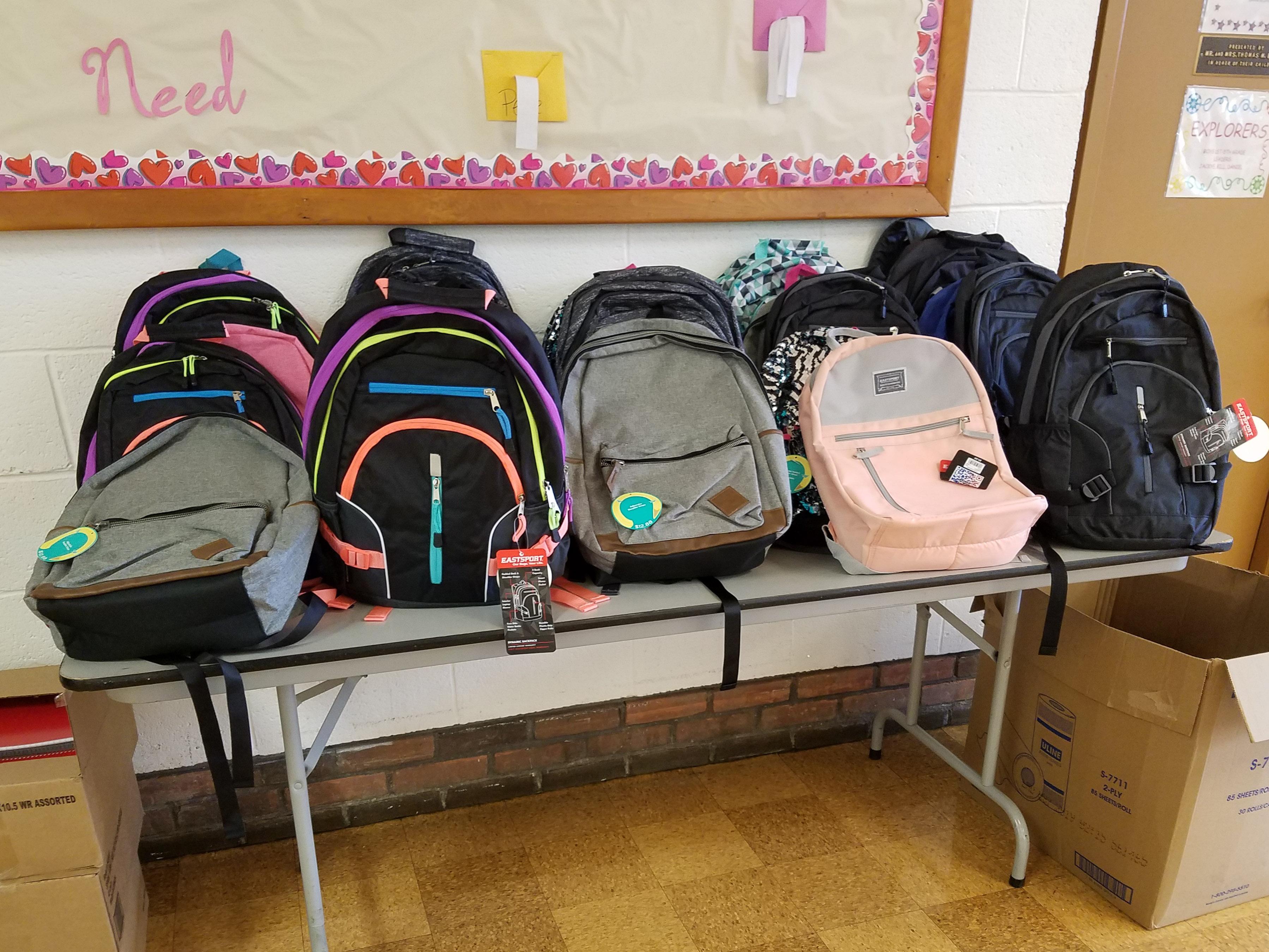 SIMOS Cares helped pack backpacks for school children in West Virginia