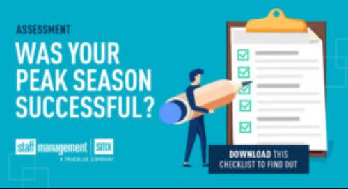 Post Peak Season Checklist