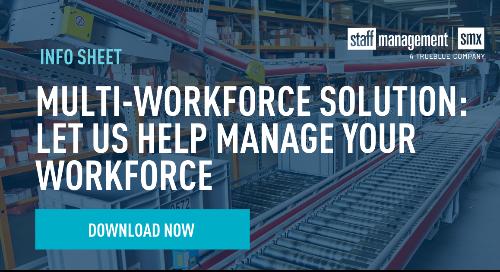 Multi-Workforce Solution Info Sheet