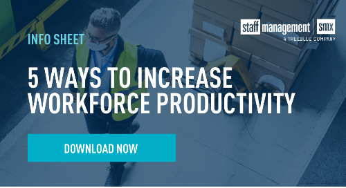 5 Ways to Increase Workforce Productivity Info Sheet