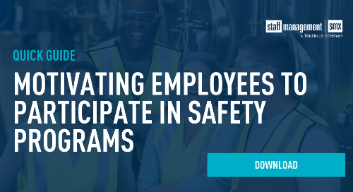 Motivating employees to participate in safety programs: A quick guide