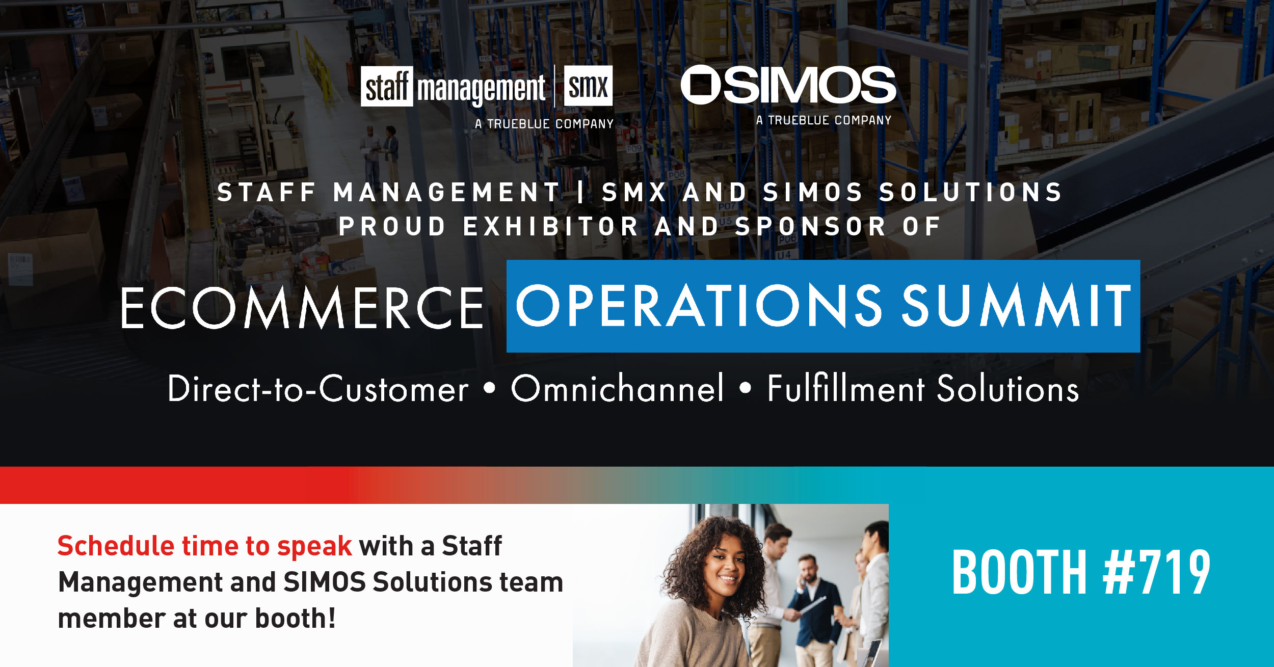 Our SIMOS and Staff Management teams are heading to Nashville, Tennessee for the eCommerce Operations Summit on August 17th and 18th.