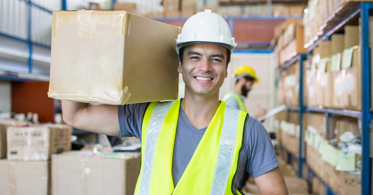 A warehouse worker who's company addresses high turnover