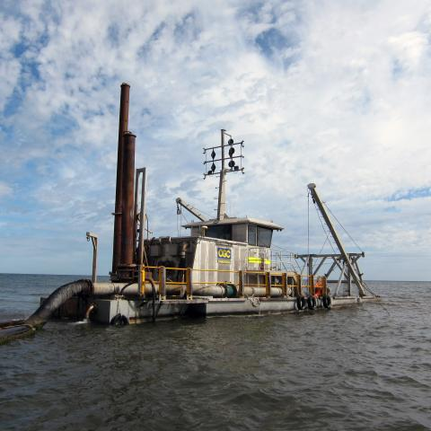CGC Dredging uses Trimble for Accurate Survey and Superior Dredge Guidance