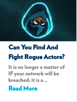 Can You Find and Fight Rogue Actors?