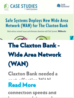 The Claxton Bank - Wide Area Network (WAN)