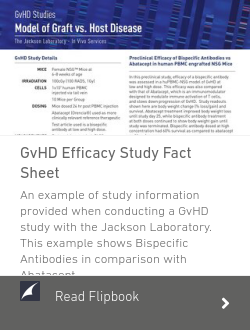 GvHD Efficacy Study Fact Sheet