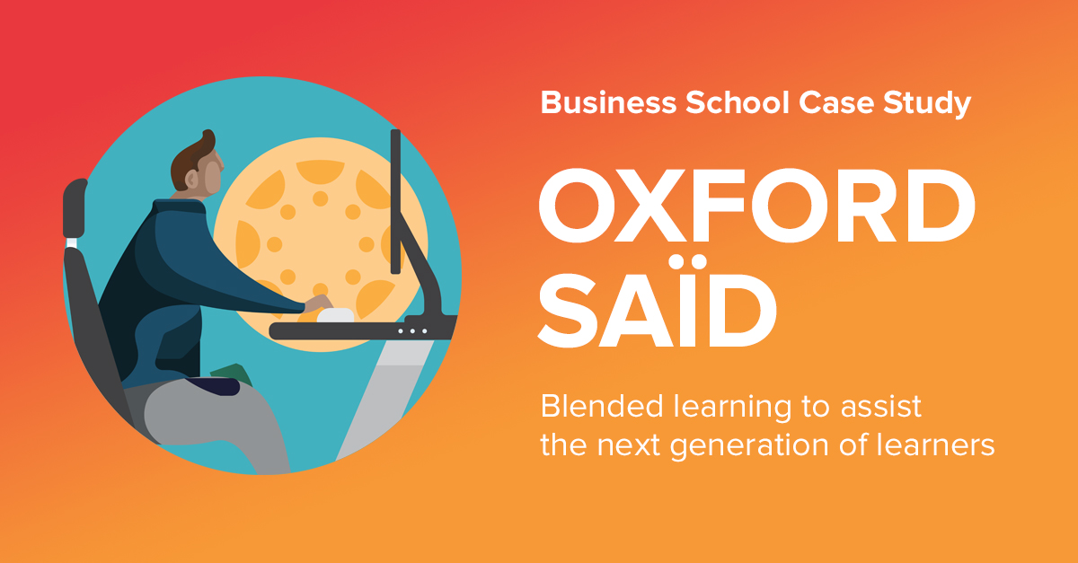 Oxford Said University: Accelerating Canvas Adoption
