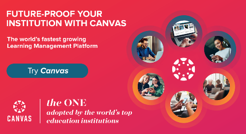 Product Infosheet: The Canvas Learning Management Platform