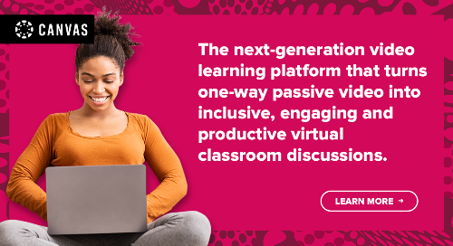 Infographic: Canvas Studio & the Connection Beyond the Classroom