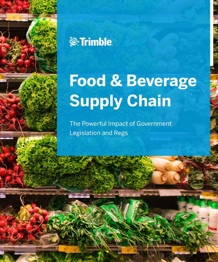 食品和饮料供应链
