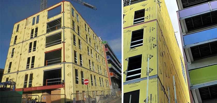 Concord Street development in central Leeds under construction