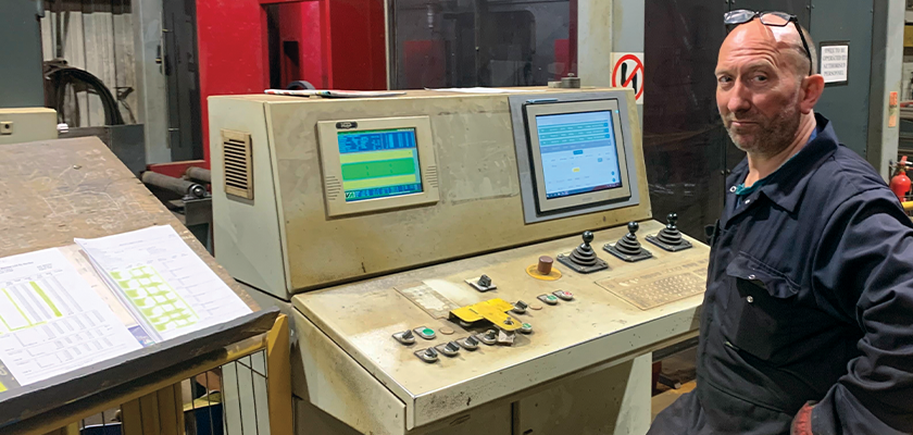 Tekla PowerFab on monitors in the fabrication workshop