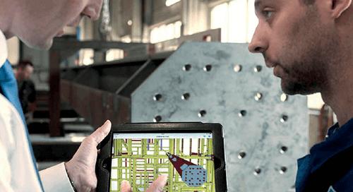 eBook: Intelligente Stahlbaufertigung – Fertigung & Zusammenbau