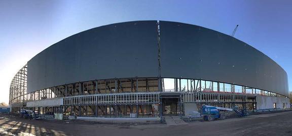 Oostingh Staalbouw verwendet Tekla Model Sharing von Anbeginn des Projekts.