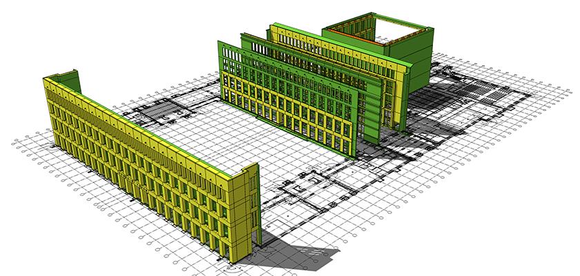 Die Leistungsübersicht des Ingenieurbüros Bau-Consult Hermsdorf für das Projekt des Berliner Stadtschlosses.