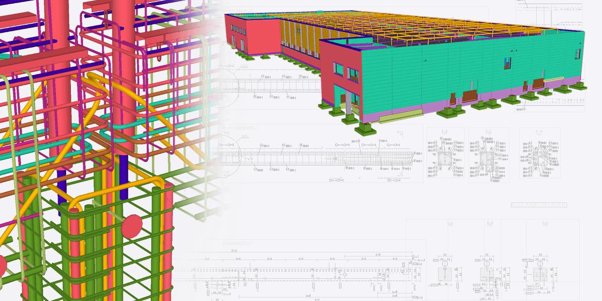 Trebes entschied sich für Tekla Structures im Massivbau. Ausschlaggeben war insbesondere die hohe Interoperabilität.