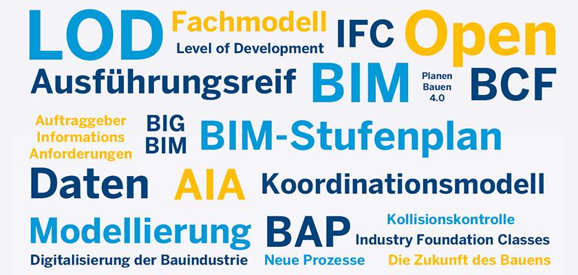 Was bedeuten IFC und LOD? Die wichtigsten BIM-Begriffe kurz erklärt.